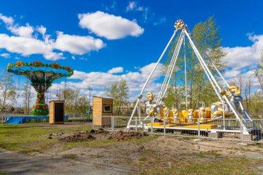 Городской парк им И. Федько Коркино