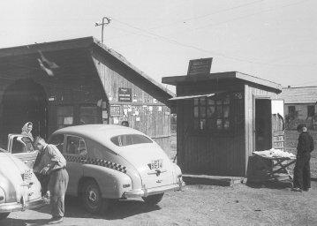 Такси в Коркино. 1958 год